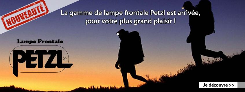 Lampes frontales Petzl