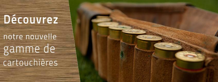 Cartouchières et mallettes à munitions