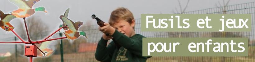 Fusil Chasse Enfant Et Cible