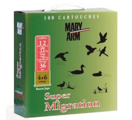 Pack 100 cartouches Mary Arm Super Migration 36