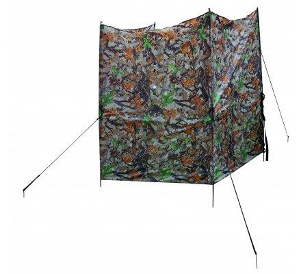 Hutteaux de camouflage trois faces