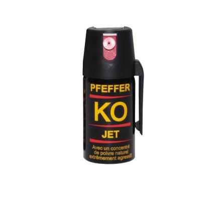 Aérosol lacrymogène KO jet poivre
