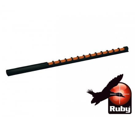 Organe de tir orange Ruby 120mm
