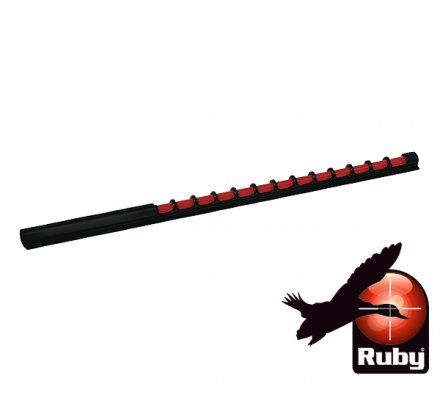 Organe de tir rouge Ruby 120mm
