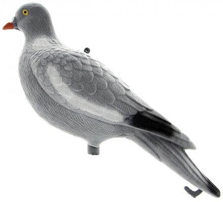 Appelant pigeon sans pattes floqué