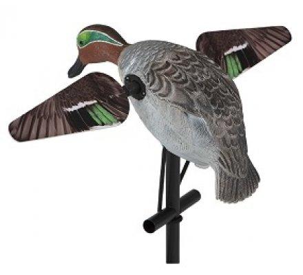 Appelant sarcelle à ailes tournantes électriques HD LUCKY DUCK
