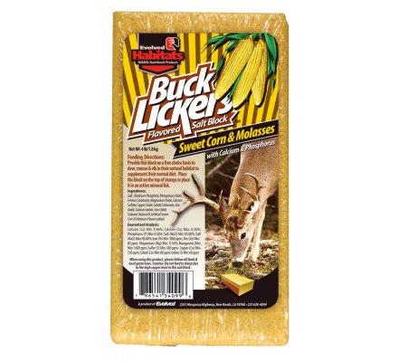 Minéraux saveur maïs doux Buck Lickers