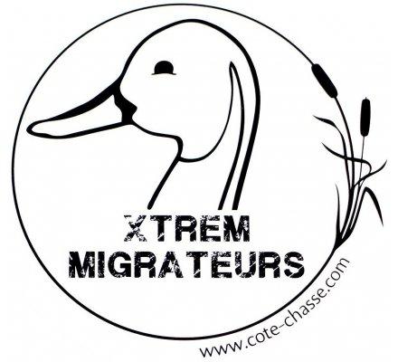 Autocollant canard Xtrem Migrateurs