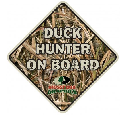 Autocollant chasse Duck hunter on board
