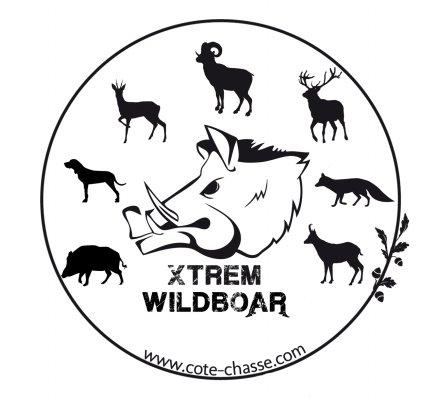 Autocollant espèces gibiers XTREM WILDBOAR