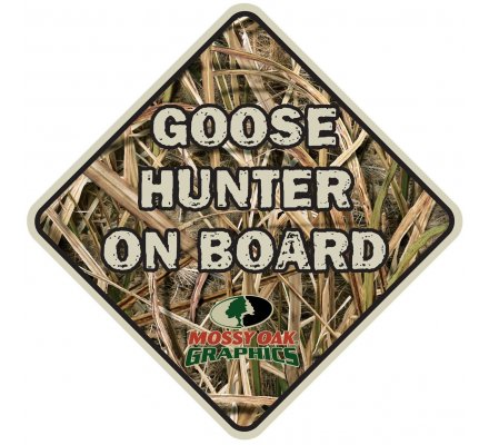 Autocollant chasse Goose hunter on board