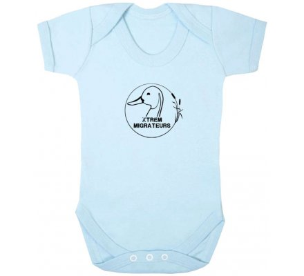 Body bébé Xtrem Migrateurs Bleu
