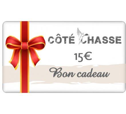 Bon cadeau 15€