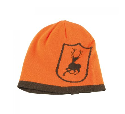 Bonnet Orange/Kaki réversible Cumberland Deerhunter