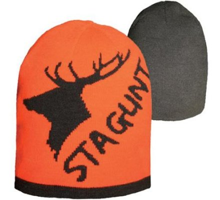 Bonnet Tonio Beanie réversible orange/gris Stagunt