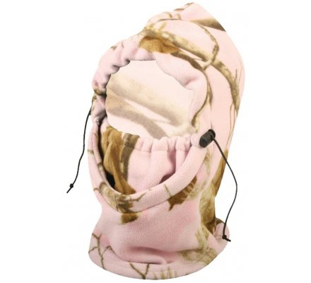 Cagoule polaire femme Mossy Oak Pink