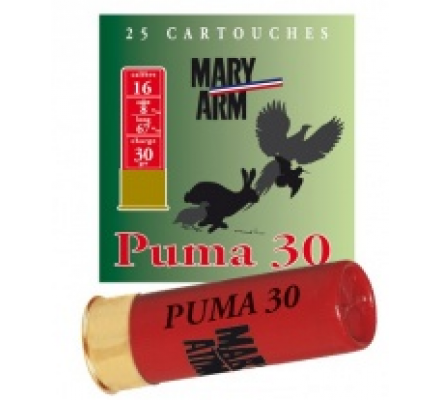 Cartouche PUMA 30 cal 16 Mary Arm