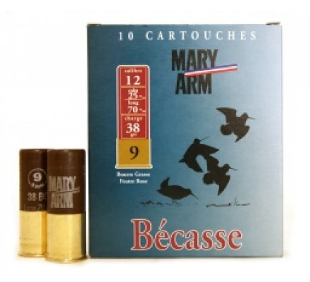 Cartouche BECASSE 38 cal 12 Mary Arm