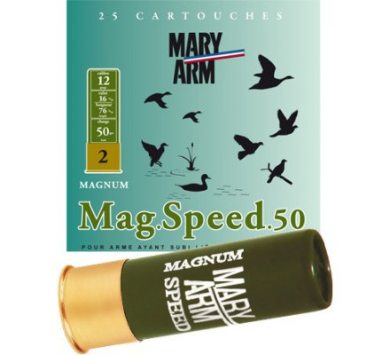 Cartouche Magnum Speed 50 cal 12 Mary Arm