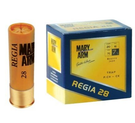 Cartouches Regia 28 BJ cal 20 Mary Arm-7.5