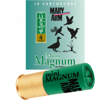 Cartouche Mini Magnum 40 cal 12 Mary Arm