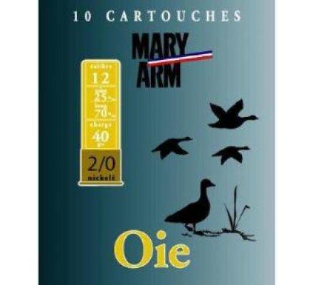 Cartouche Oie 40 cal 12 Mary Arm
