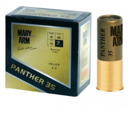 Cartouche Panther 35 cal 12 Mary Arm