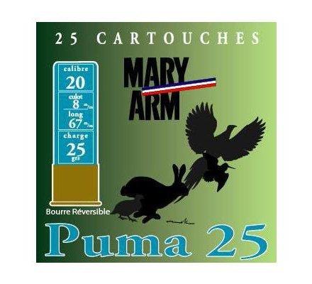 Cartouche PUMA 25 cal 20 Mary Arm