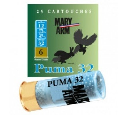 Cartouche PUMA 32 cal 12 Mary Arm