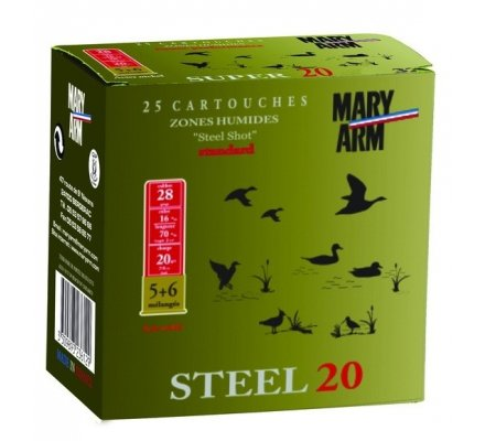 Cartouche Steel 20 cal 28 Mary Arm
