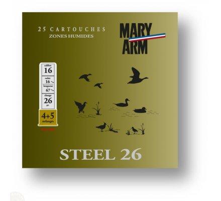 Cartouche Steel 26 cal 16 Mary Arm