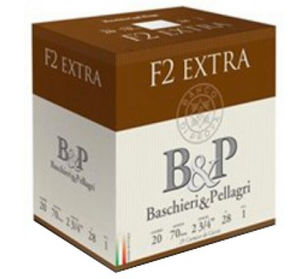 Cartouches B&P F2 Extra 28gr 20/70