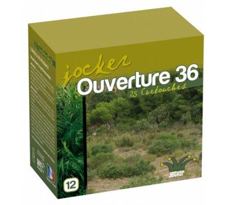 Cartouches jocker Ouverture 36 BG cal 12