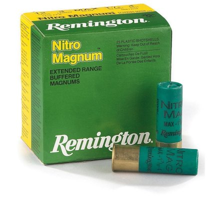 Cartouches Remington Nitro magnum 54 BJ cal 12
