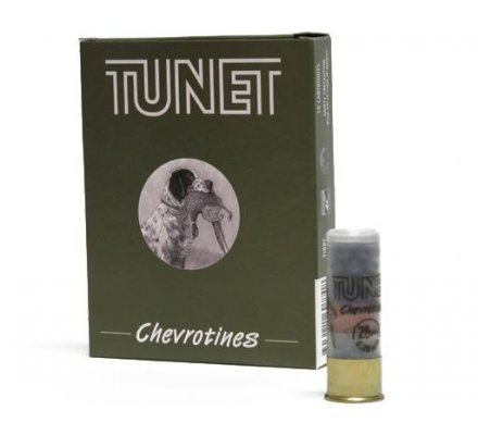 Cartouches Tunet Chevrotines 12 grs cal 12