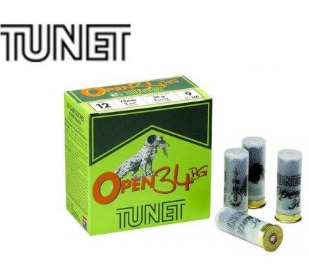 Cartouches Tunet open 34 BG cal 12