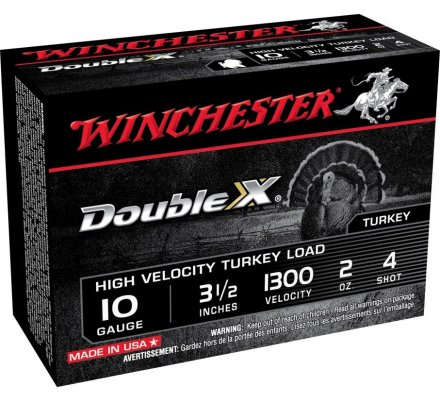 Cartouches Winchester double X cal 10