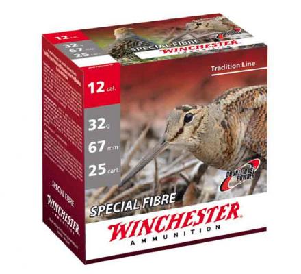 Cartouches Winchester special fibre 32 BG cal 12