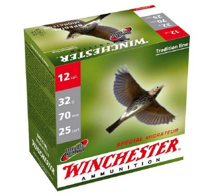 Cartouches Winchester special migrateur 32 BJ cal 12