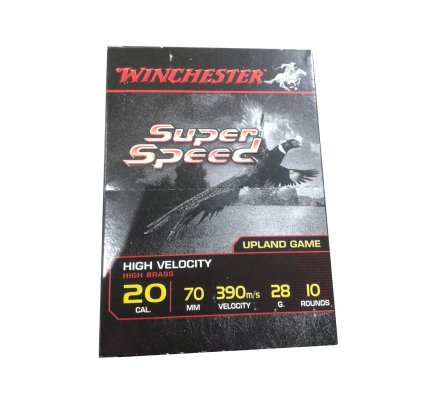 Cartouches Winchester Super Speed G2 28 BJ cal 20