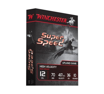 Cartouches Winchester Super Speed G2 36 BJ cal 12