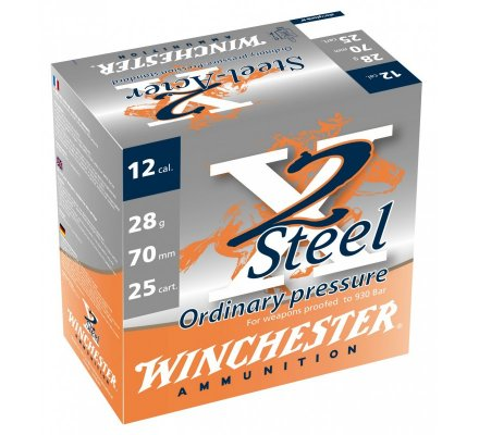 Cartouches Winchester X2 Steel 28 BJ cal 12