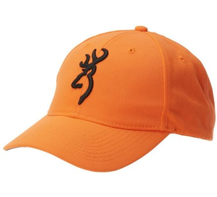 Casquette Browning orange fluo Safety 3D