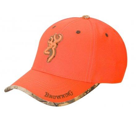 Casquette Browning Sure Shot orange