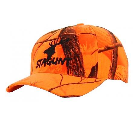 Casquette camouflage orange fluo Blaze STAGUNT