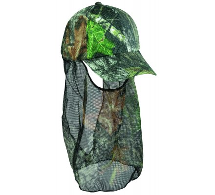 Casquette filet camouflage Mossy Oak break up