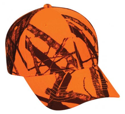 Casquette Mossy Oak Blaze orange