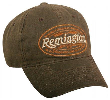 Casquette Remington Wax brodée marron