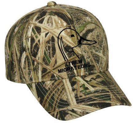 Casquette Xtrem Migrateurs camouflage Mossy Shadow Grass Blades