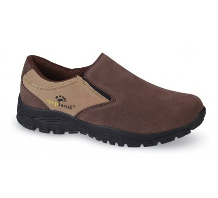 Chaussures basses Confort Marron Stepland